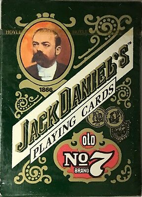 Vintage Jack Daniels Old No. 7 Playing cards sealed