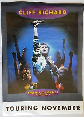Cliff Richard From A Distance The Tour 70 X 50 Cm Original Promo Poster
