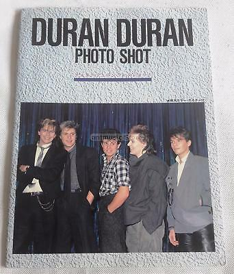 Duran Duran Photo Shot E Japanese Only Paperback Book With Poster  -  Japan
