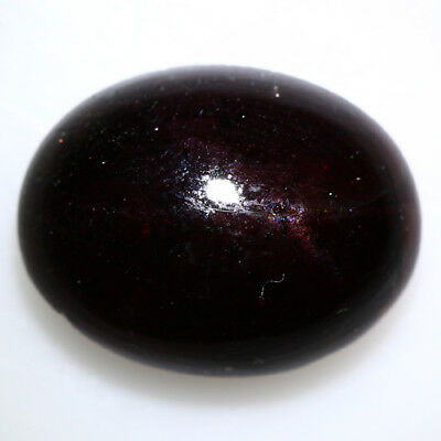 14.125 Ct Exclusive Brilliant! 100% Natural Top Red Garnet Star Unheated Cab !!!