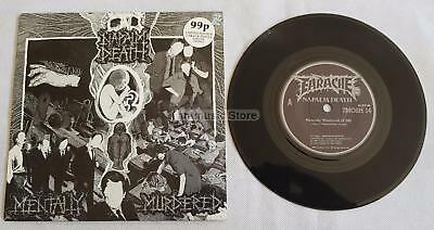 """Napalm Death - Mentaly Murdered UK 7"""" Ltd Edition  Picture Sleeve"""