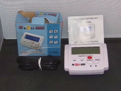 PRO CALL BLOCKER Privacy Protection BLOCK UNWANTED COLD Sales & NUISANCE CALLS