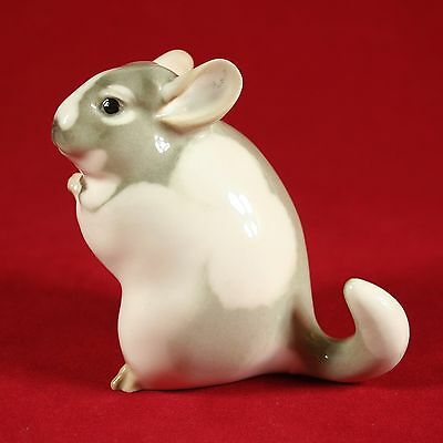 Chinchilla Figurine, Lomonosov Porcelain, Russian / USSR, LFZ