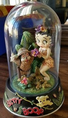 Franklin Mint Betty Boop -Boop of the Jungle