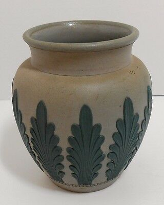Doulton Lambeth Silicon Vase Multiple Stamps
