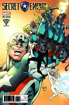 Secret Empire #1 Nauck Variant Cover Marvel Comics Avengers Movie Captain Hydra