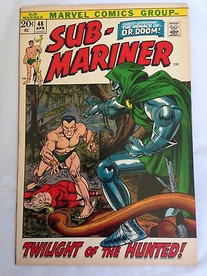 Sub-Mariner 48  Marvel 20 cents!  Doctor Doom App.!  Nice Copy!  PRICED TO SELL!