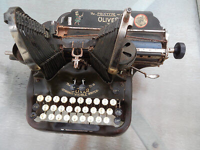 ANTIQUE OLIVER TYPEWRITER NO. 9-(for parts/repair)