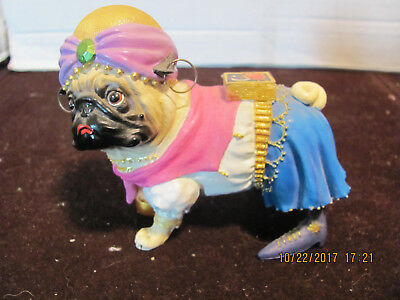 Palm Reading Fortune Teller Pug Retired Westland Pug-nacious PERFECT CONDITION