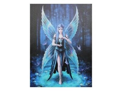 "NEW DESIGN Anne Stokes ""Enchantment"" Large 40x30cm Fairy Canvas Wall Art"