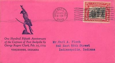 651 2c George Rogers Clark, Floyd Shockley Cachet [E243322]