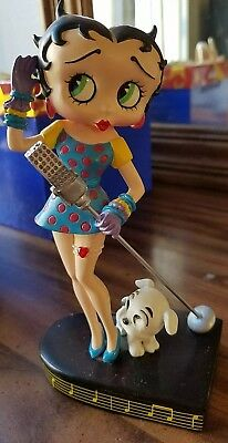 "Danbury Mint Betty Boop ""betty Sings The Blues"" Collector Figurine"
