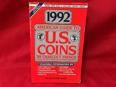 1992 American Guide To U.S Coins by Charles F. French⭐️FREE SHIPPING