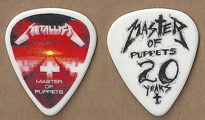 Metallica 2006 Tour Master of Puppets Guitar Pick