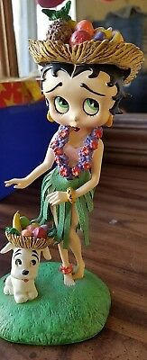 Danbury Mint Limited Edition Hawaiian Holiday Betty Boop Figurine