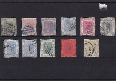 Early Hong Kong Stamps  R3764