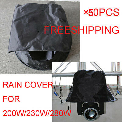 50pcs Rain Cover for sharpy Beam Moving Head Rain protector 200W/230W/280W LIGHT