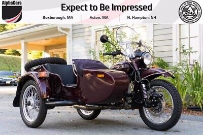 2015 Ural Patrol 2WD Burgundy Metallic  Fully Serviced Original Condition Low Mileage Financing & Trades