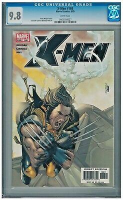 X-Men #168 CGC 9.8  0963588027 White Pages 2005