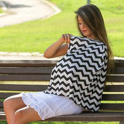 Nursing Scarf Cover Up Apron for Breastfeeding & Baby Car Seat Canopy Cover US