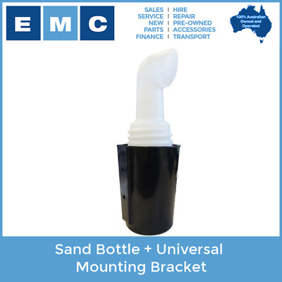 Sand Bottle with Universal Mounting Bracket for Golf Carts
