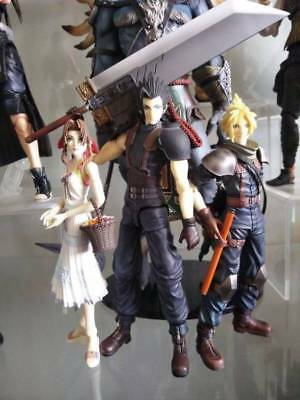 Final Fantasy VII Crisis Core Zack Cloud Aeirth Play Arts Figures