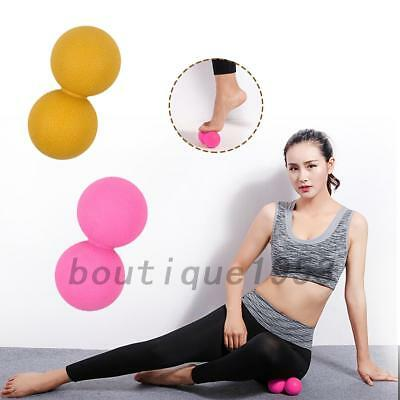 Double Lacrosse Ball Mobility Myofascial Trigger Point Release Peanut Ball