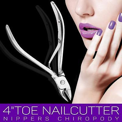 Chiropody Toe Nail Clippers for Extra Thick Nails Podiatry Heavy Duty Cutters