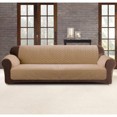 Sure Fit Sofa Cover Protector 3 seater - Dark Flax NEW