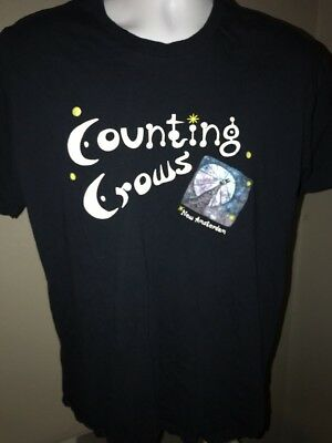 Counting Crows Concert T-Shirt 2006 Size XL Rock Band 2 Sided Tour Dates