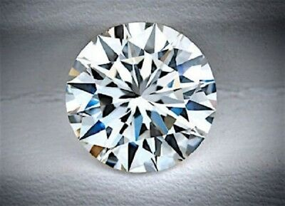 3.00 Carat Round Cut Natural Loose Diamond, F Color , VS1, Excellent For Ring