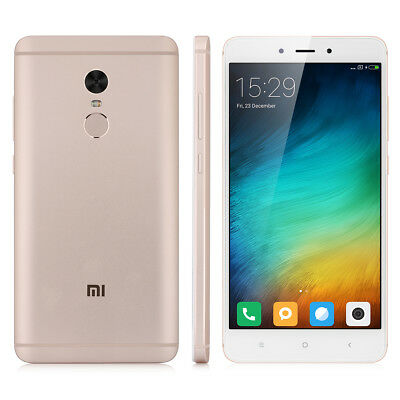 3+64Go XIAOMI Redmi Note 4 5.5'' 4G Android6.0 DecaCore 13MP Smartphone TOUCH ID