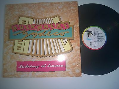 Buckwheat Zydeco Ft Eric Clapton  Taking It Home Island Label 88 Lp Record A1