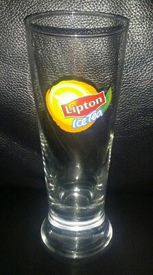 Rare Collectable Lipton Ice Tea Glass Tumbler In Great Used Condition