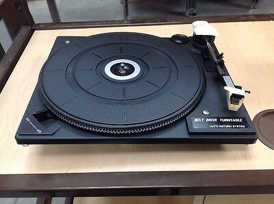 Record Player turntable mechanism with Mag cartridge (old stock but new)