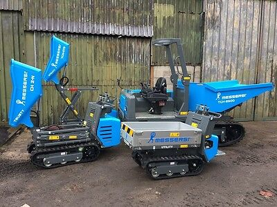 New Messersi Tracked Dumpers avilable in the North-West - Track High Tip