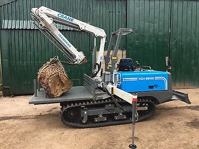 2017 Messersi TCH2500 Tracked Mounted Crane - Specialist track dumper chassis