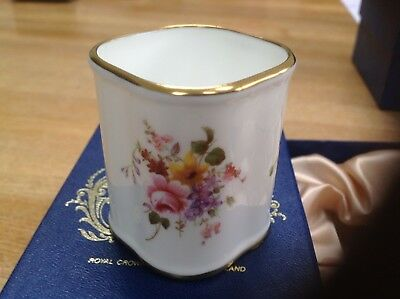 Royal Crown Derby Posie Collection - Brush Pot