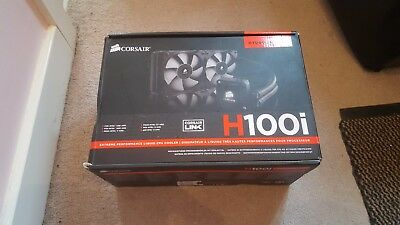 Corsair Hydro H100i Extreme Performance Water Liquid CPU Cooler 240mm