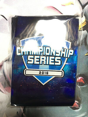 Yu-Gi-Oh! CCG Championship Series 2016 professionelle Kartenhüllen Card Sleeves