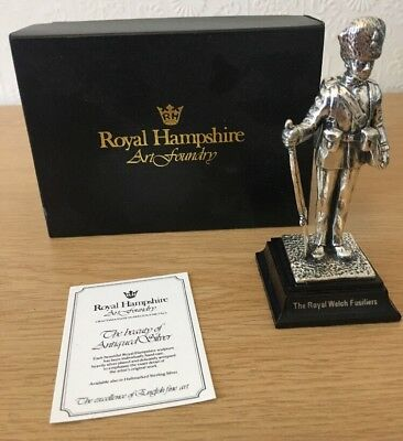 Royal Hampshire Art Foundry - The Royal Welsh Fusiliers