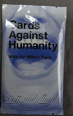 Cards Against Humanity Vote For Hillary Expansion Pack Unopened RARE Collectors