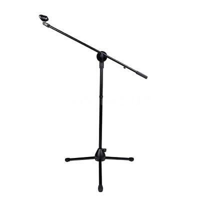 Boom Stage Stand for Microphone Floor-type Mic Stand W/ Two Clips UK SHIP H3G6