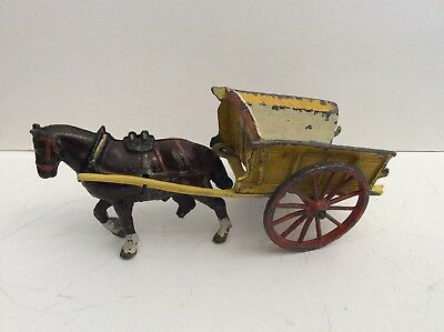 CHARBENS - Diecast FARM WAGON with Cart Horse