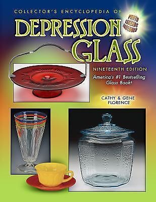 Encyclopedia of Depression Glass Cathy Gene Florence Price Guide Collector Book