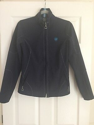 Ariat Solan Softshell Jacket Small in Blue - hardly worn