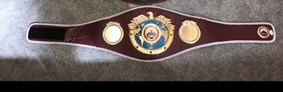 Mike Tyson Signed Replica Boxing Belt autographed by Iron Mike and authe