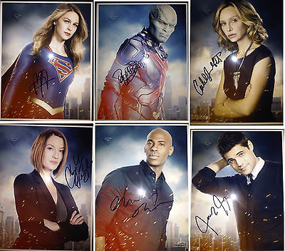Supergirl - Cast Photo Set - Promotional Prints - CW - DC Comics - Arrow - Flash