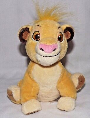 Disney Lion King Simba Plush Soft Toy Teddy Free Post (BI)