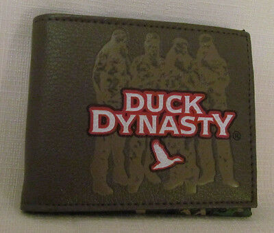 Duck Dynasty Group Silhouette Wallet Camouflage lightweight